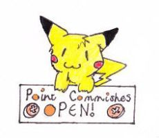 Point Commishes Are Open, Chu. by FringedPikaa