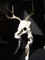 Deer Mask by mesmithy