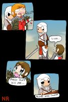 This one time in Assassin's Creed P2 by MilkToothCuts