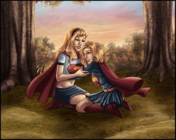 Supergirls - Home At last by kclcmdr