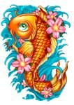 Koi for Hospice by RodgerPister