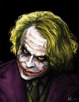 Joker Speed paint by Iroisaac
