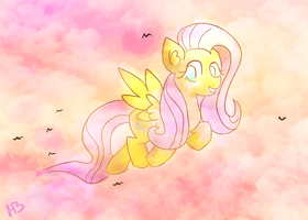 Flutterflock by aweSOMEkward