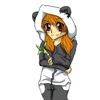 Panda Girl by Lavakitties