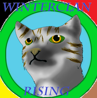 Winterclan Rising Cover by silver-moonwolf