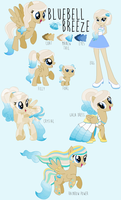 Bluebell Breeze Reference Sheet by princess-madeleine