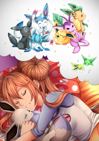 + V e r s u s + Pokemon Fanbook - 05/20 by Sallynyan