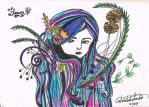 Flower (~for Hyde) by stellarsojourner