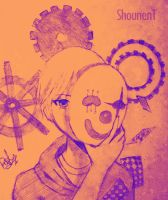 ShounenT - Karakuri Pierrot by bleedingheart31