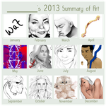 2013 Summary Of Art by xXAngelartistXx