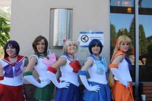 Kcon12: Pretty Guardian Sailor Moon by PaperRoxas