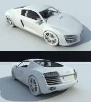 Audi R8 WIP by view