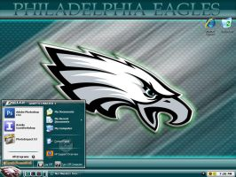 Philadelphia Eagles Theme by graffitimaster