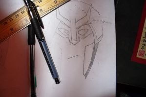 Prowl's Face WIP by Psycho-Pheonix
