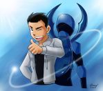 The Blue Beetle by shongcredible