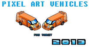 Pixel Art Vehicles - Breakdown Recovery RAC by Luckymarine577