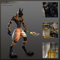 Anubis Warrior Final by CDB-ART