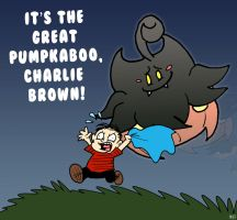 The Great Pumpkaboo by monjava