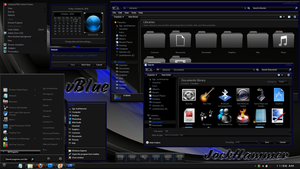 Windows 7 theme : vBlue by JockHammer