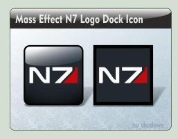 Mass Effect N7 Logo Dock Icon by LustaufMeer