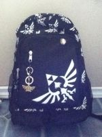 My awesome book-bag for school! by Dark--Ruler