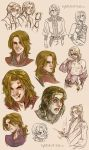 (Mostly) Feneon Sketches by CrystalCurtis