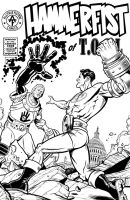 Hammerfist cover 2 inks by angryrooster