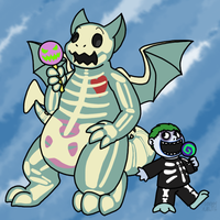 Lollipop Lovin' Bone Boys by Noobynewt