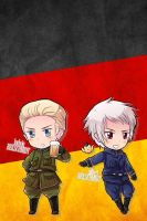 Hetalia iWallpapers - Germany (and Prussia) by Dreamweaver38