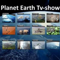 Planet Earth TV-Show Icons by Bastan