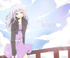 HBD : White-Kathy by Pluvias