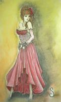 Lady In Red by Sarah-Maxine