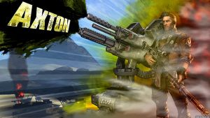 Borderlands 2 Wallpaper - Axton the Commando by mentalmars