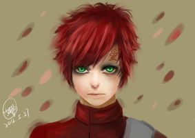 Naruto  Gaara by oneOPpiece