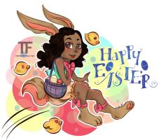 Happy Easter 2014 by Nini-Syllestial