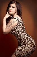 Leopard Lady by hoodiepig