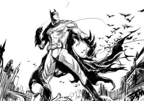 Batman in Gotham Midnight by DTM2009