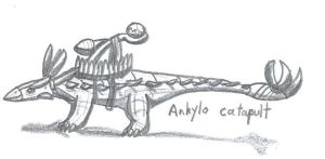 PARAWORLD-Ankylo Catapult by WorldSerpent
