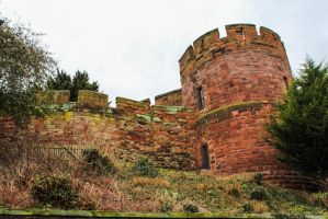 Shrewsbury Castle by Blekee