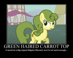 Carrot Top Motivational by CrossoverPrincess