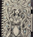 Mermaid (traditional) by natalico