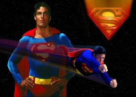 Superman Homage to Christopher Reeve by stick-man-11