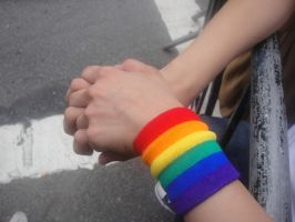 Gay Rights - Hand Holding by Lucy199