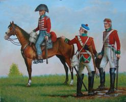 Soldiers of 4th Regiment of Dragoon Guards by matej16