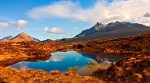 Skye Evening by bongaloid