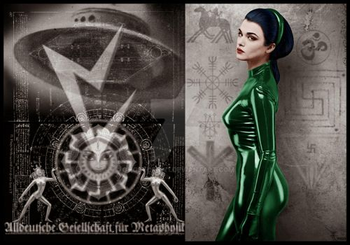 Goetia Girls: UFO Vril Girl by GHOSTCROW1