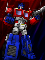 Optimus Prime final by Superbdude1