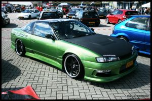 1991 Nissan 180SX by compaan-art