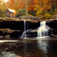 old mill, babcock falls by applefight