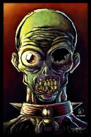 Zombi 2 colored by keronetex by Dany-Morales
